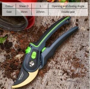s736 園芸剪定ばさみ、カットすることができ枝の35mm直径、果樹、花、枝とはさみ