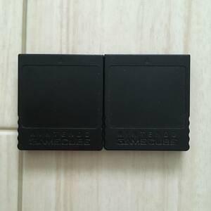 メモリーカード 251ブロック セット GC周辺機器 ゲームキューブ周辺機器