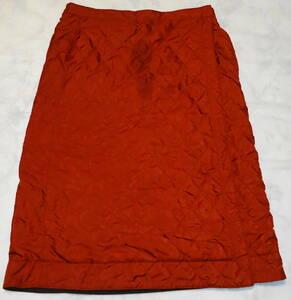 送0【 ユニクロ ウォームイージー リバーシブル 巻きスカート ロング レディース 赤 】女性用 ポケット付き フリース キルティング UNIQLO