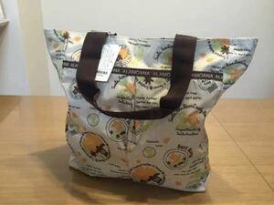 【新品】トートバッグ/ショッピングバッグ/エコバッグ イエロー
