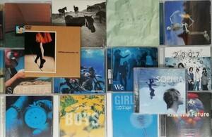 【SOPHIA】 アルバム CD DVD まとめて 14枚セット ソフィア