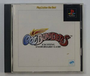 PS1 ゲーム COOLBOARDERS PLAYSTATION THE BEST SLPS-91031