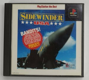 PS1 ゲーム SIDEWINDER USA PLAYSTATION THE BEST SLPS-91010