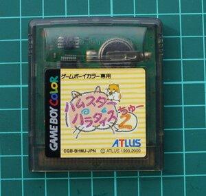 ゲームボーイ カラーカートリッジ : ハムスターパラダイス 2 CGB-BHMJ