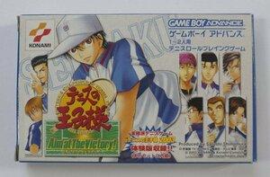 ゲームボーイアドバンス ゲーム テニスの王子様 AIM AT THE VICTORY !
