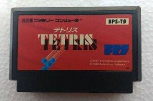 ファミコンカートリッジ : TETRIS ( テトリス ) BPS-T0
