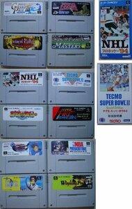 スーパーファミコン 12 スポーツ ゲームカートリッジ