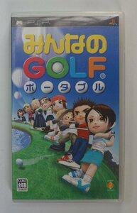 PSP ゲーム みんなのGOLF ポータブル UCJS-10001