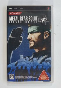 PSP ゲーム METAL GEAR SOLID PORTABLE OPS + ULJM-05261