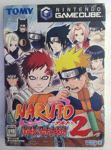 ゲームキューブゲーム NARUTO -ナルト- 激闘忍者大戦!2 GS-DOL-GNUJ-JPN