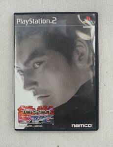 PS2 ゲーム : 鉄拳タッグトーナメント SLPS-20015
