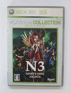 Xbox360 ゲーム NINETY-NINE NIGHTS PLATINIUM COLLECTION