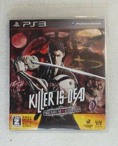 PS3 ゲーム KILLER IS DEAD PREMIUM EDITION BLJS-10215