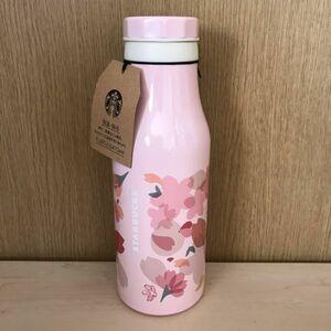 【新品】 スタバ ・ スターバックス ★ 2018 ステンレス ボトル バラエティーペタル グランデサイズ 473ml タンブラー ピンク 桜 サクラ