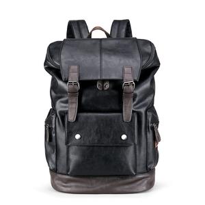 リュックサック 6201 PUレザー バックパック ビジネス リュック メンズ 鞄 男性 バッグ フォーマル A4収納 黒 カジュアル 【10020010】