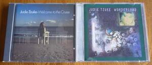 ■ 【CD2枚セット/美品】 JUDIE TZUKE - WELCOME TO THE CRUISE / WONDERLAND