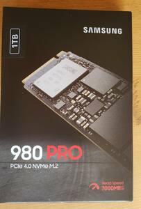 887-989 新品 980PRO SSD 1TB Samsung サムスン M.2 PCIe Gen 4.0 x4 NVMe MZ-V8P1T0B/IT