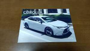 トヨタ カローラ セダン カタログ 2020年10月 TOYOTA COROLLA 特別仕様車 G-X PLUS 2020年10月