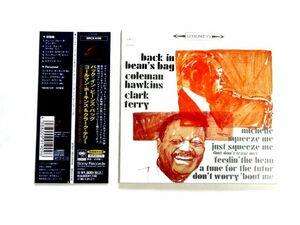 紙ジャケット 国内盤 CD【SRCS9190】コールマン・ホーキンス & クラーク・テリー Coleman Hawkins & Clark Terry / Back In Bean's Bag