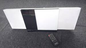 Panasonic◆ipod/iphone対応CDコンパクト ステレオシステム◆2013年製◆デザイン良しSC‐HC38