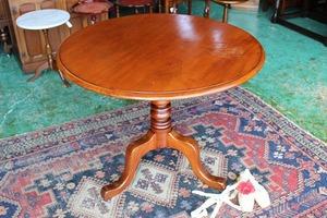 イギリスアンティーク家具 ティルトップテーブル テーブル 円形テーブル 折りたたみ/テーブル 英国製 c194