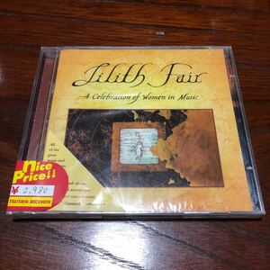 Various Lilith Fair (A Celebration Of Women In Music)USA盤2枚組CD【シールド新品】