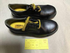 【未使用品】ミドリ安全 一般静電安全靴 CF210 ブラック 28cm EEE