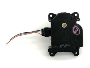 _b39732 ダイハツ ムーヴ ムーブ カスタムXリミテッド DBA-L175S エアコンサーボ モーター (3) 113800-2830 L185S
