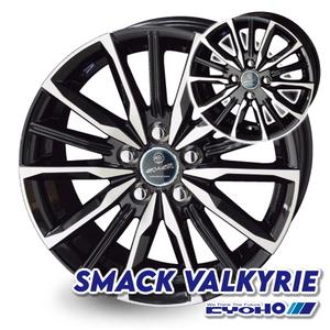 共豊 SMACK VALKYRIE 15インチ【4本セット】15×4.5J+45 4-100(4H PCD100)