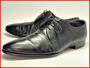 即決 REGAL リーガル 26.5cm プレーントゥ メンズ 黒 ブラック 本革 レザーシューズ 本皮 通勤 革靴 ビジネス jtl