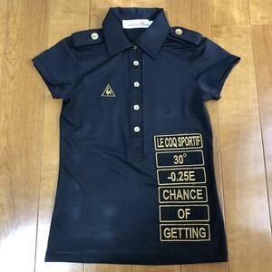 【le coq sportif】 ルコック ゴルフ ウェア 半袖 ポロシャツ レディース Sサイズ