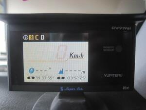 難有 通電のみOK 社外◆ユピテル スーパーキャット YUPITERU SuperCat GPSレーダー探知機 RW919Si ※SDカード欠品◆Ξ6057P E-16A