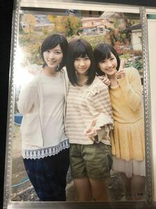 島崎遥香 松井珠理奈 渡辺麻友 AKB48 So long!共通 店舗特典 生写真 A-11