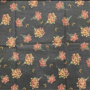 カットクロス 約112×50センチ 花束 リボン ネイビー(1)
