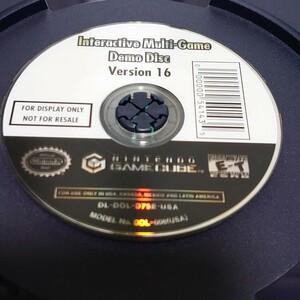 【非売品】北米版 GC用店頭デモソフト ver.16