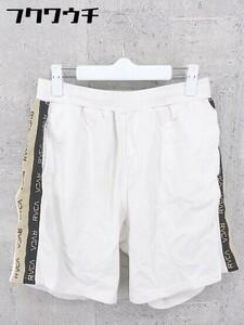 ◇ RVCA ルーカ サイドライン スウェット ハーフ ショート パンツ サイズM ホワイト メンズ