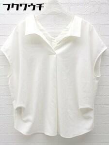 ◇ ◎ ROPE' ロペ ノースリーブ シャツ ブラウス サイズ36 ホワイト レディース