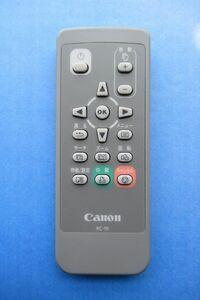 Canon リモコン RC-10 ボタン電池 管理番号:v-3432