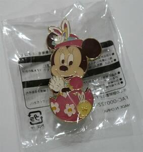 【新品】ディズニーランド ディズニーシー オリジナルピンバッジ ミニーマウス 非売品【未開封】