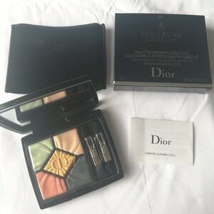 値下げ ほぼ新品 Dior ディオール アイシャドウ サンククルール 447 限定