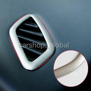 メルセデス ベンツ CLA/GLAクラス W117/C117/X117/X156/45AMG等 エアコンベントトリム カバー シルバー 左右セット インテリア AC
