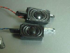 送料最安 120円 SP01:ノートPC用内蔵型の豆スピーカー左右2個セット