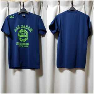mizuno半袖Tシャツ 美品 サイズM 全中2012陸上
