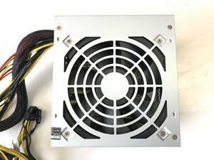 【中古パーツ】玄人志向 KRPW-L4-500W 500W 電源ユニット 電源BOX ■DY36