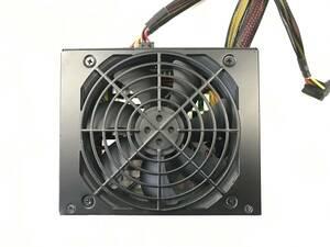 【中古パーツ】玄人志向 KRPW-GT500W/90+ 500W 電源ユニット 電源BOX80PLUS GOLD■DY40