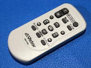 送料無料 中古 Victor ビクター ビデオカメラ リモコン RM-V750 除菌 清掃済 安心の保証有 (管理No M-477)