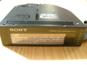 Sony Corporation   CD ченджер  использование   журнал   «  SONY  »  6  стопа   Kanade  XA-T6  б\у     приведение в действие  проверка  Ставка   (   Стоимость доставки до Японского склада компании JPLOT  в бремени   )