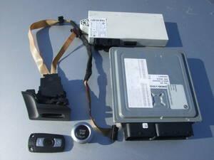 * BMW 3 series E90 E91 engine computer -DME control unit key CAS 2 * 325i VB25