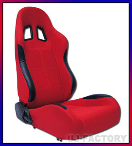 [ immediate payment!]* bucket seat seat * touring / right side * red * sporty design / reclining semi bucket seat!