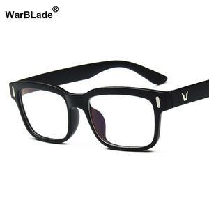 【★★新品★★】2018 ブランドデザインヴィンテージ眼鏡女性男性光学的に透明なレンズ眼鏡の女性の男性眼鏡フレーム眼鏡warblade